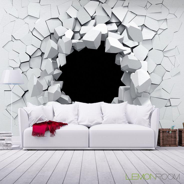 Wnętrza, Fototapety 3D - Fototapeta 3D od LemonRoom.pl