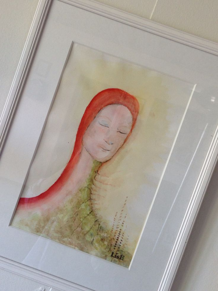 Moderjord  #målning #akvarell #konst #tavla #Lis1