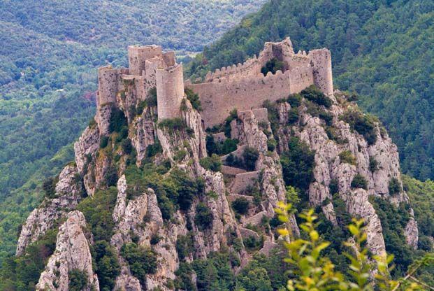 Randonnée Châteaux du Pays Cathare en liberté - La Balaguère