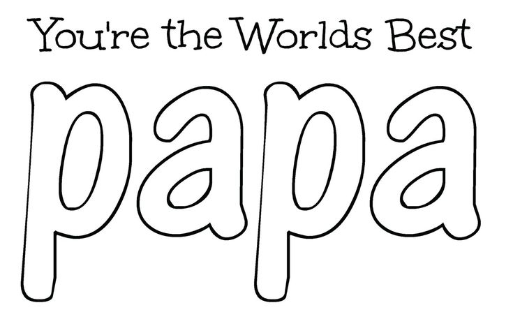 Happy Birthday Grandpa Coloring Pages Papa Best Book For ...