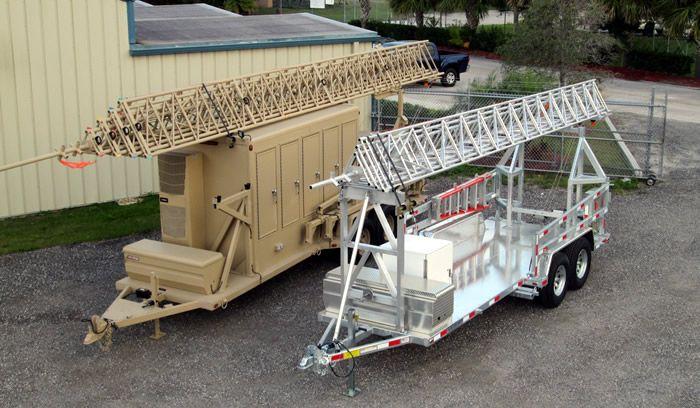 Aluma Tower Company Trailer Systems