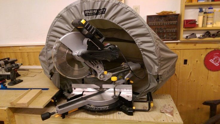 Dust collection for my Miter Saw