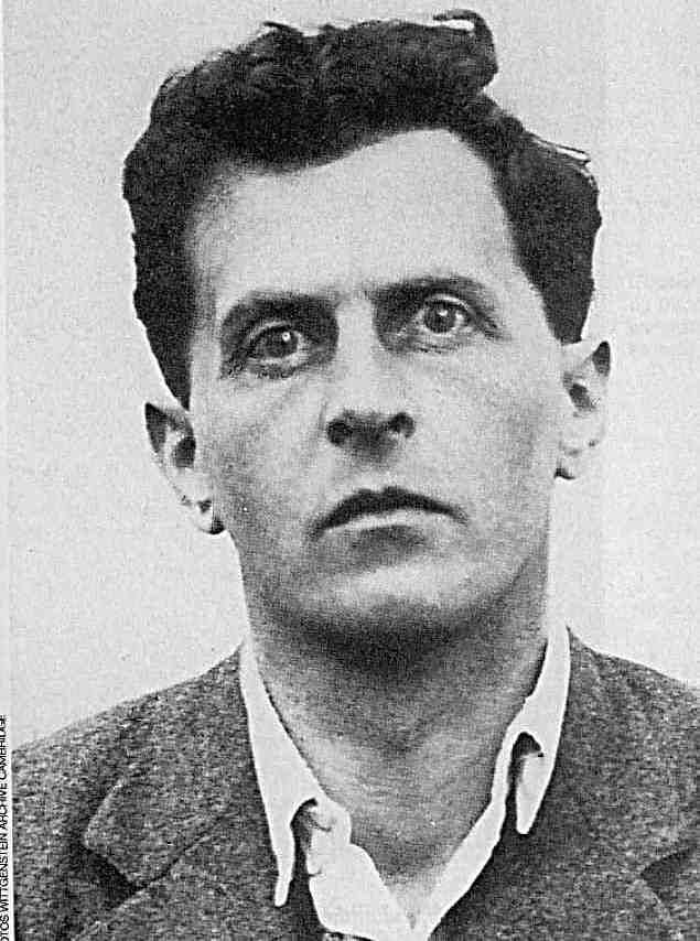 Ludwig Wittgenstein (1889-1951) How do you get eyes like this? What's he seen?
