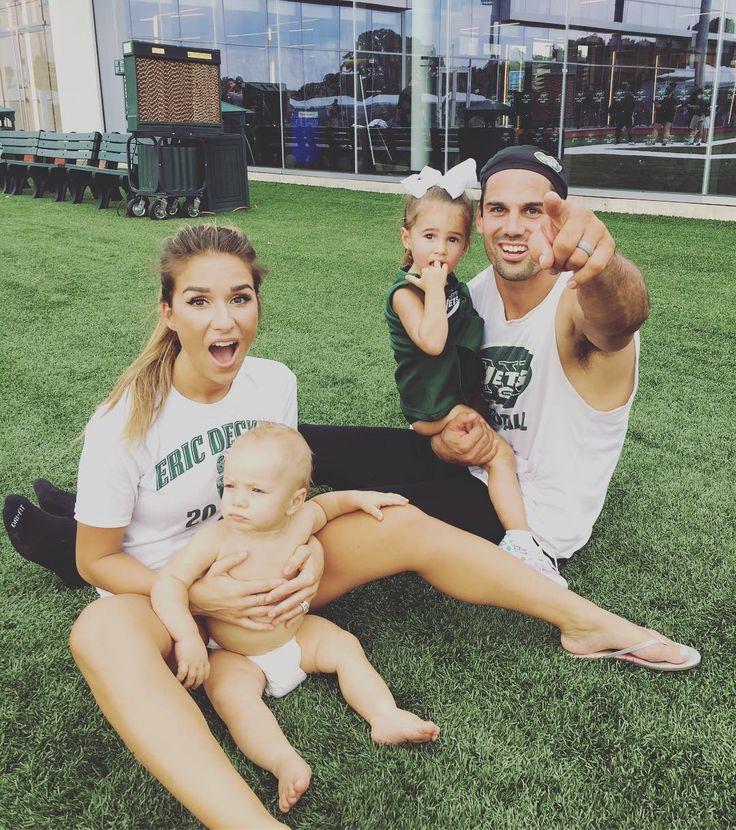 Eric Decker & Jessie James Decker #instagram