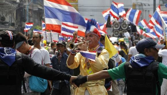Thai protesters rally against PM ahead of Senate vote | All USA