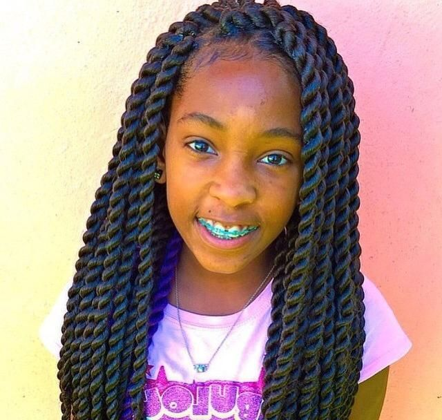 Twist Hairstyles For Kids 18 Best Tree Braids Images On Pinterest  African Hairstyles
