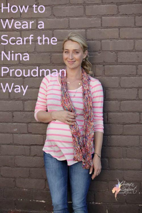How to wear a scarf like Nina Proudman of Offspring http://www.insideoutstyleblog.com/2014/02/8-ways-to-wear-scarves-the-nina-proudman-way.html