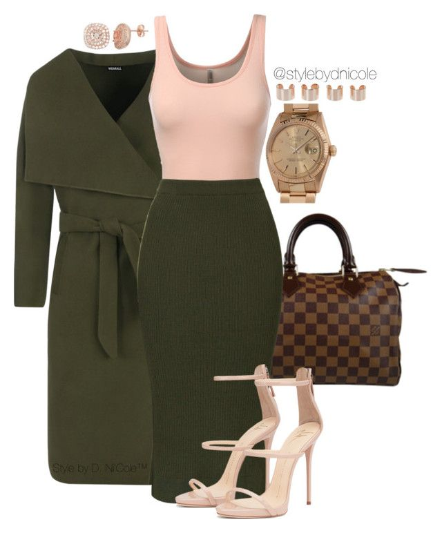 """Untitled #3165"" by stylebydnicole ❤ liked on Polyvore featuring WearAll, Louis Vuitton, J.TOMSON, Topshop, Maison Margiela, Rolex, women's clothing, women, female and woman"