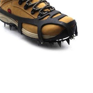 18 Δόντια Αντιολισθητικές Πάγος Χιόνι παπουτσιών Αιχμές Ορειβασία Πεζοπορία Καρφιά Πώληση - Banggood.com
