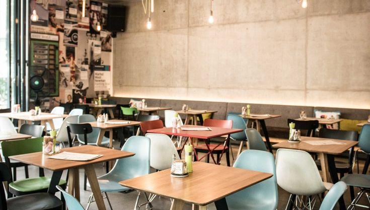 Coffee house for friendly aliens -Kunsthauscafe Graz