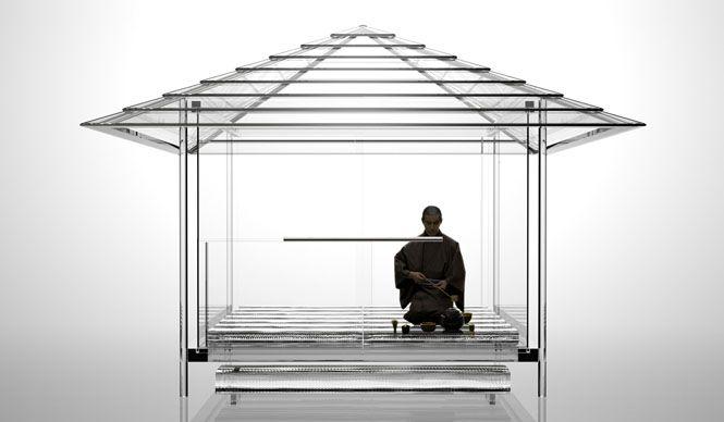 京都・フィレンツェ姉妹都市提携50周年を記念した特別展覧会として、吉岡徳仁氏が手がけた「ガラスの茶室 - 光庵」の奉納展示が決定。京都の重要文化財にも指定される天台宗青蓮院門跡境内、将軍塚青龍殿の大舞台で、4月9日(木)より世界で初めて披露