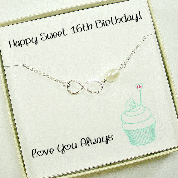 Sweet 16th Birthday Gift Daughter Idea By StarringYouJewelry Birthdaygift Daughtergift