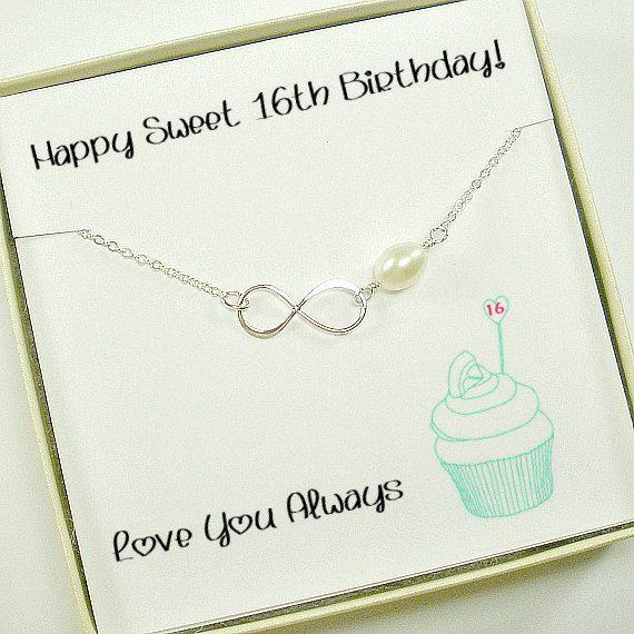 Sweet 16th birthday gift. Daughter birthday gift idea by StarringYouJewelry #birthdaygift #daughtergift