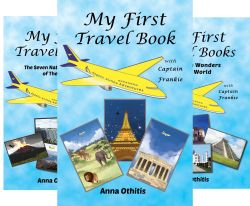 Children's E-Book GA (20 Winners)-WW-My First Travel Books-Anna George Othitis-Ends 12/19 | Miki's Hope
