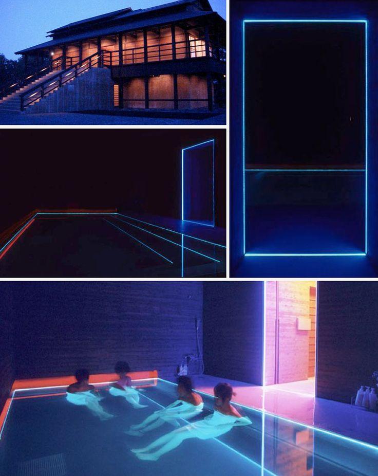 The House of Light Hotel by James Turrell: Between Dawn and Dusk - Hotel House of Light de James Turrell: entre el crepúsculo y el atardecer #home #architecture #luxury #casas #lujo