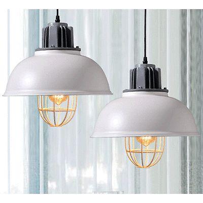 Edison Industrial Vintage Chandelier Pendant Light Ceiling Lamp Metal Cage Decor
