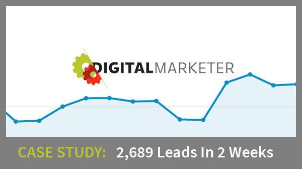 How @DigitalMarketer Got 2,689 #Leads Using #OnsiteRetargeting in 14 days