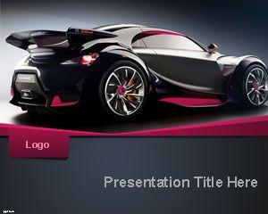 Sportscar PowerPoint Template | Free Powerpoint Templates