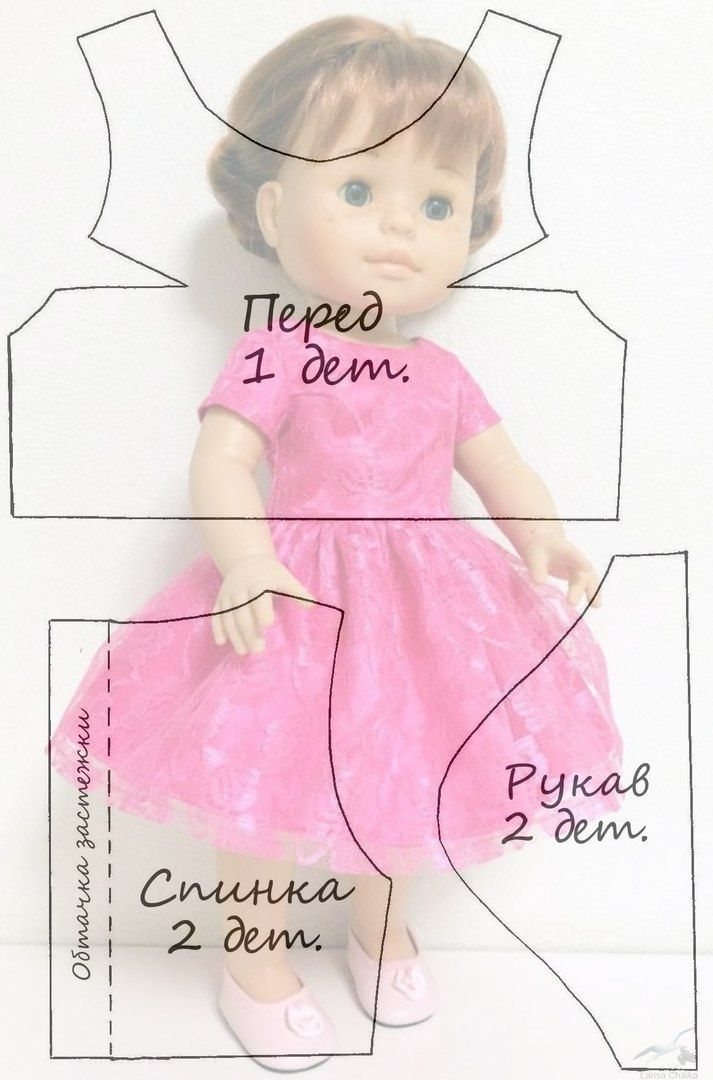 Альбом №4 Выкройки для куклы П..