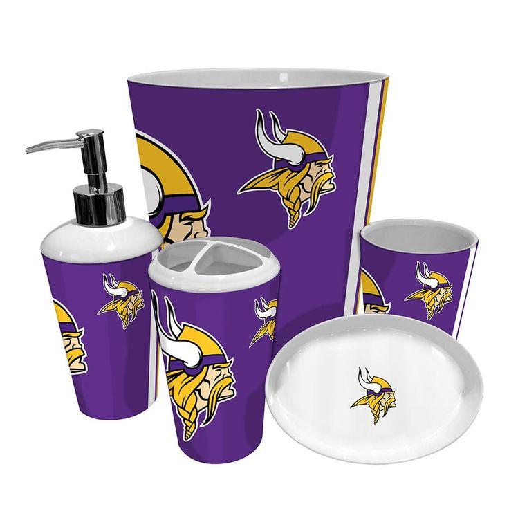 Minnesota Vikings NFL Complete Bathroom Accessories 5pc SetBest 20 Complete  Bathroom Sets Ideas On Pinterest