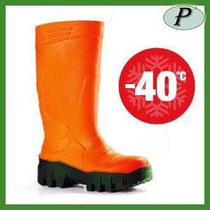 Botas de agua de seguridad Iglu. Botas naranjas para bajas temperaturas (-40ºC).    Ver información completa: http://www.tplanas.com/epis/calzado-para-el-frio/338-botas-de-agua-de-seguridad-naranjas-iglu.html
