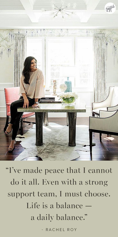 Fashion designer Rachel Roy is so inspiring!