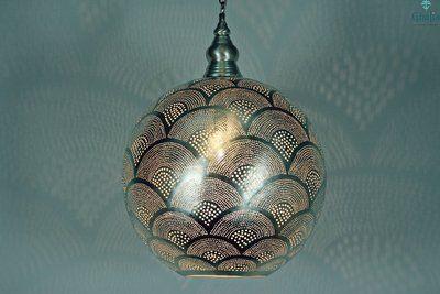 Lampe égyptienne sphérique