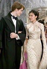 8 augustus 2013: Volop Veilig Voedsel. Foto: Vandaag jarig: Katie Leung, speelde slechts drie rollen tot nu, waarvan Cho in de Harry Potter serie verreweg de bekendste is. Hier met Robert Pattinson als Cedric