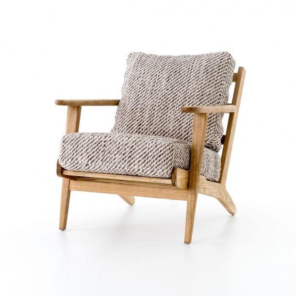 Brooks Lounge Chair Smoked Kilim Chair House Furniture Design