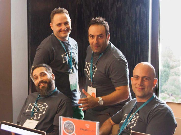Team Pressidium at Word Camp EU 2014
