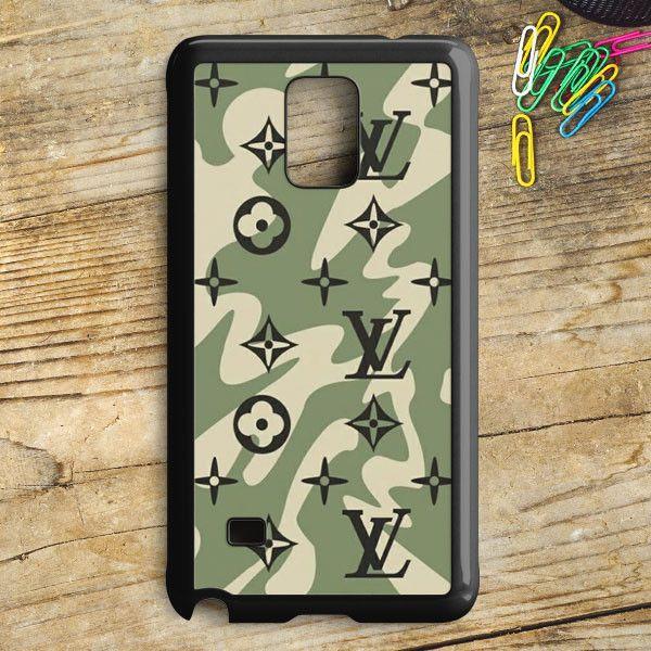 Louis Vuitton Camo Pattern Samsung Galaxy Note 5 Case | armeyla.com