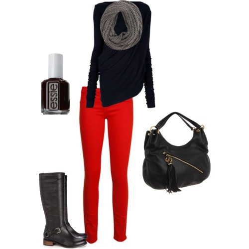 red skinny jeans - Google Search