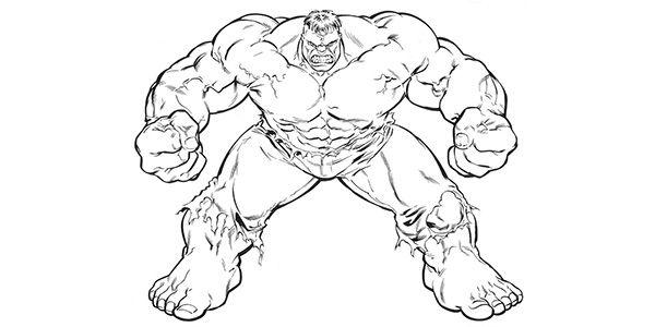 99 Disegni Di Hulk Da Colorare Hulk Disegni Colori