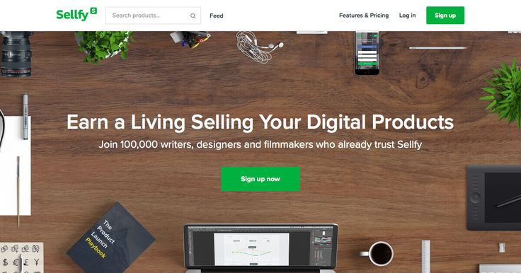 Sell digital products, sell downloads on Sellfy - eBooks, music, video, fonts, software and more