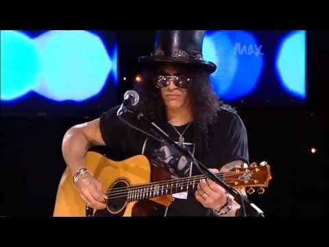 Sweet Child-o-Mine;  Civil War - Slash & Myles Kennedy - Rare Acoustic - MAX Sessions 2010 - Best Quality 480p
