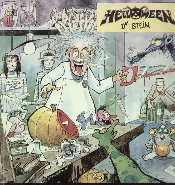 Helloween dr stein single