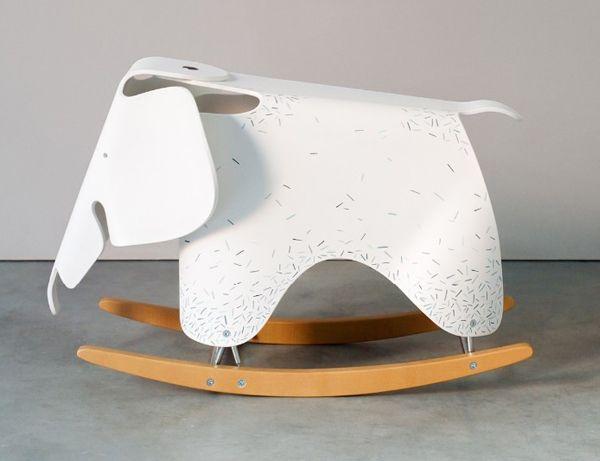 Vitra Eames Elephants: 'A Child's Dream' (NOTCOT)