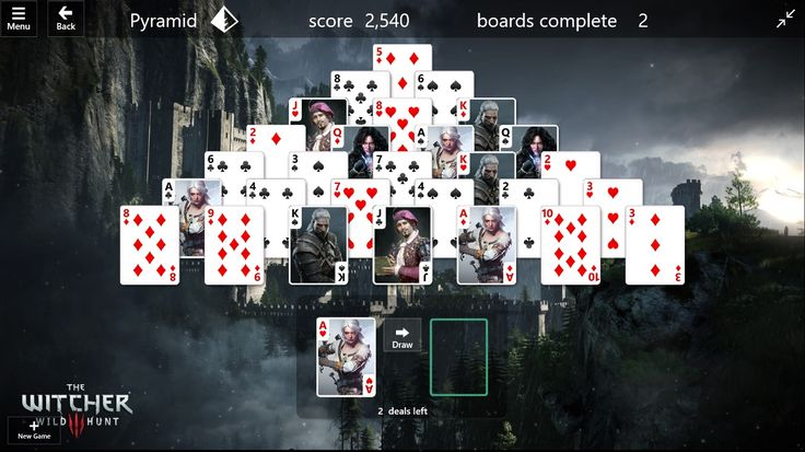 I made a Witcher Theme for Windows Solitaire. http://ift.tt/2vK4T5N
