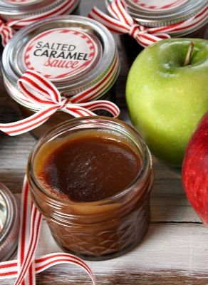 Salted Caramel Sauce #recipe