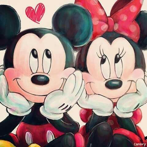 Mickey Minnie <3
