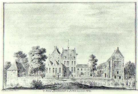 Kasteel Buckhorst / Bockhorst te Zalk / Overijssel Nederland