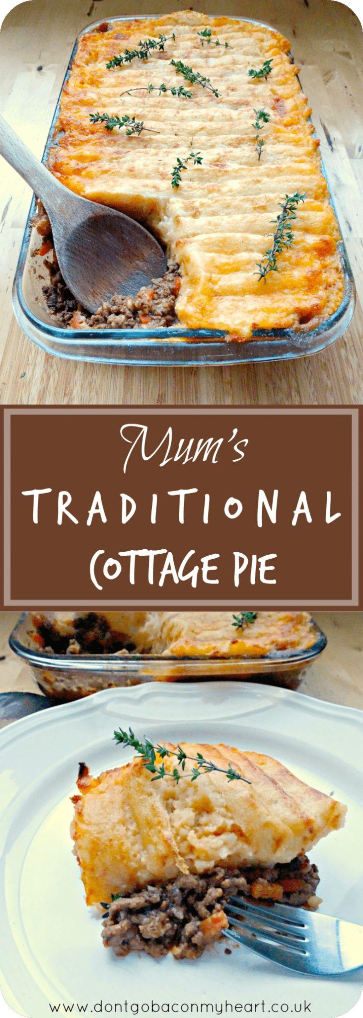 mum's traditional cottage pie recipe