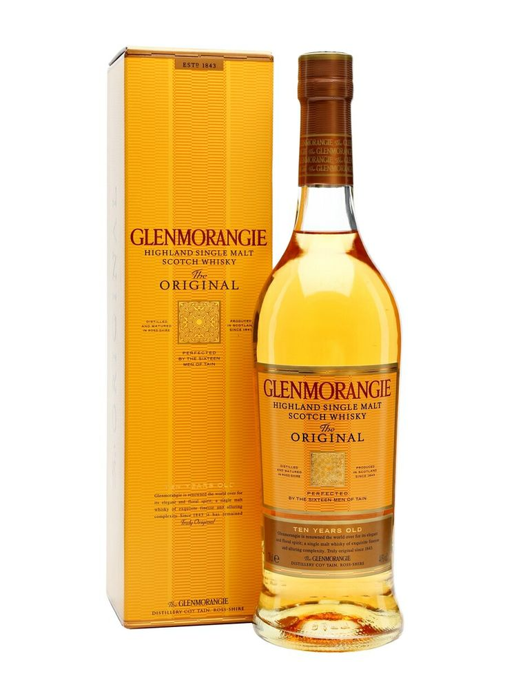 Glenmorangie, The Original, Highland Single Malt, Scotland.
