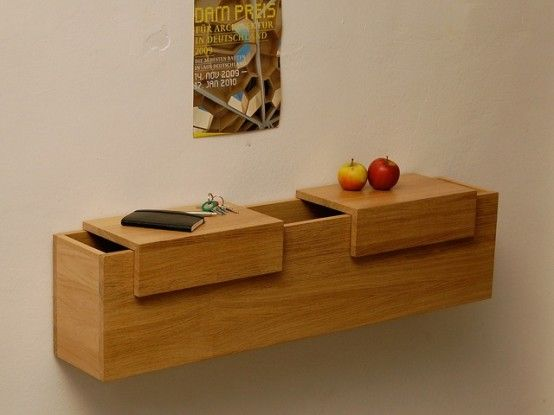 Hallway Chest With Hidden and Easy-To-Access Storage Spaces