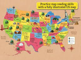 Best MAPS Images On Pinterest Us Map States And United - Us map of natural