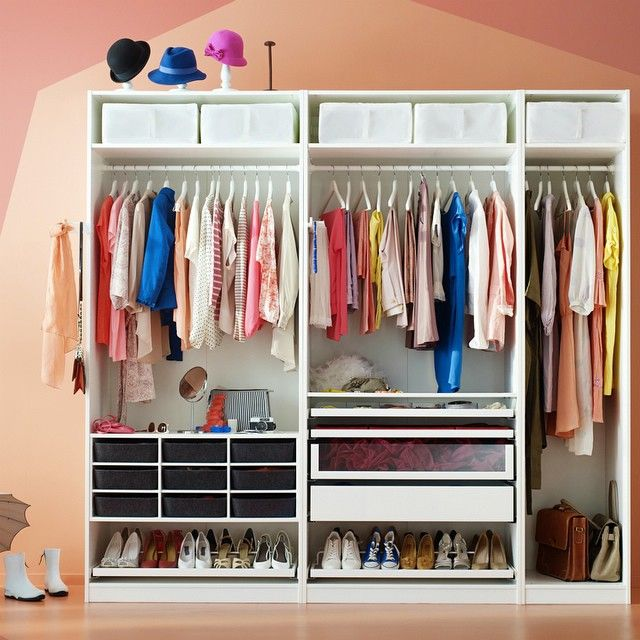 Dream closets do come true! Choose your #IKEA PAX wardrobe style and size and then pic... | Use Instagram online! Websta is the Best Instagram Web Viewer!