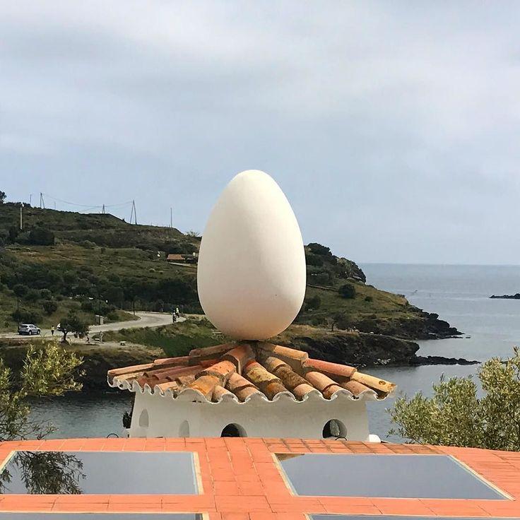 Why an egg Salvador Dali?#CataloniaCostaBrava #inCostaBrava #CatalunyaExperience #danishadventurer