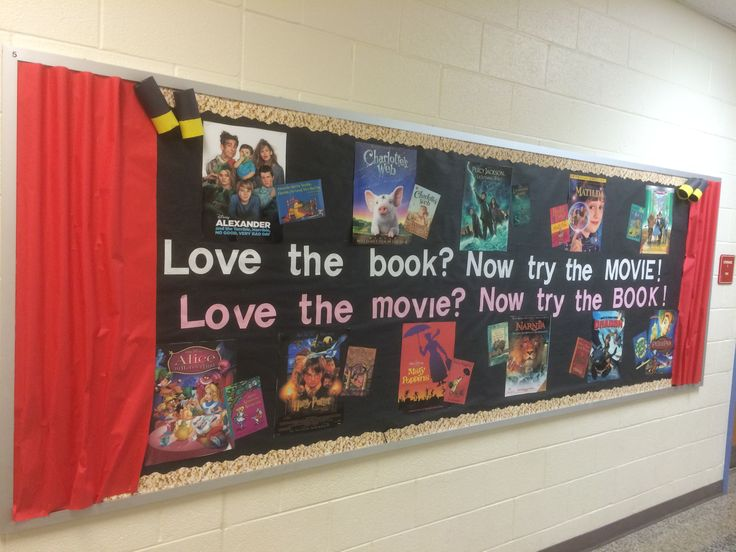 Love the book? Now Try the Movie! Bulletin Board                                                                                                                                                      More