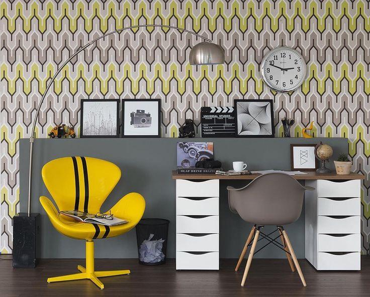 O Seu Home Office Tem Que Combinar Com Você! Aposte Em Uma Decoração Que  Reflita
