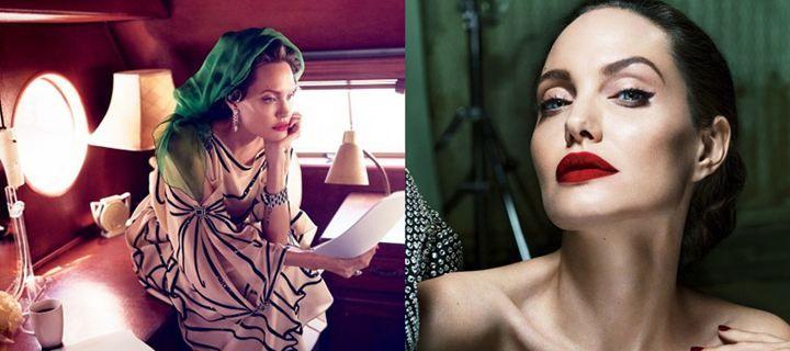Η Angelina Jolie φωτογραφίζεται για το Vanity Fair και μιλά για το διαζύγιο από τον Βrad Pitt και το πρόβλημα υγείας της!